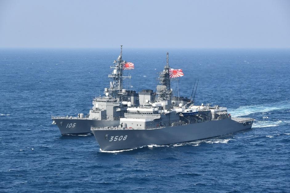 海上自衛隊練習艦隊のオークランド寄港 | 在オークランド日本国総領事館